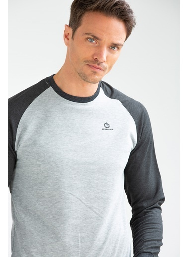 Speedlife Rubber Erkek Sweatshirt Renkli